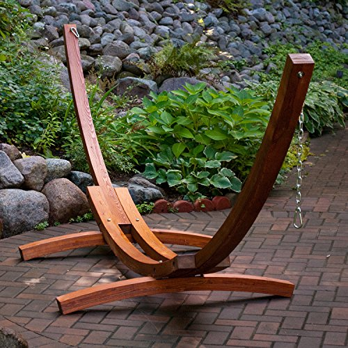 15 Foot Wood Arc Stand -