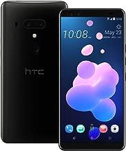 HTC U12 Plus (2Q55100) 6GB / 128GB 6.0-inches LTE Dual SIM Factory Unlocked - International Stock No Warranty (Ceramic Black)