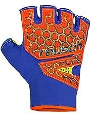 Reusch, Sala SG SFX Short 3770320-484 - Guantes de portero de fútbol naranjas para hombre