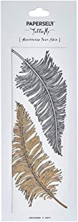 Paperself Feathers Temporary Tattoo