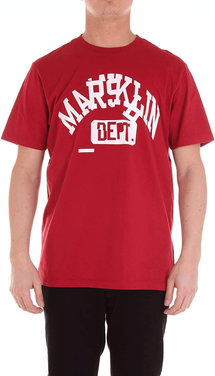 FRANKLIN & MARSHALL Men's TSMF336ANS19RED Red Cotton TShirt