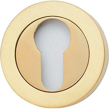Roseta para cilindro (bocallave) tipo pera de latón. Fabricado en ...