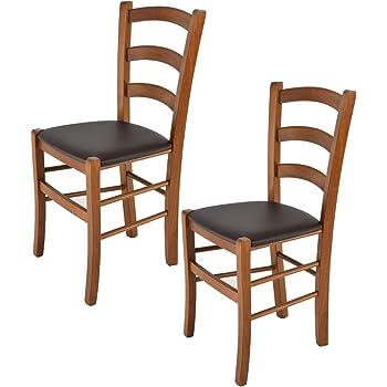 Tommychairs Set 2 sedie classiche PISA 38 per cucina, bar