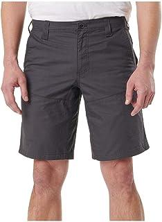5.11 Tactical Men's Terrain Shorts, Full Running Gusset, Cotton Twill, Walking Length, Style 73341