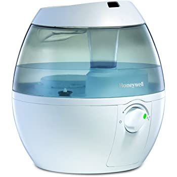 Honeywell HUL520WC MistMate™ Ultrasonic Cool Mist Humidifier, White, with Adjustable Mist Control, Auto Shut-off, Ultra Quiet Operation, Visible Cool Mist