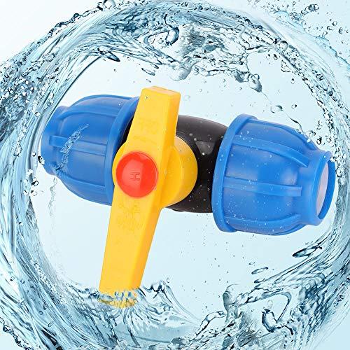 Changor Válvula de Bola de tubería, Resistente a la pérdida de Agua, Alta tensión soportada, plástico PE