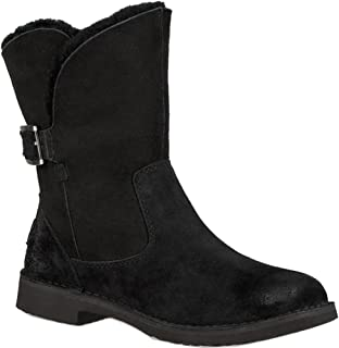 Buy UGG Mini Spill Seam Bow Women's Boot Charcoal at Amazon.in