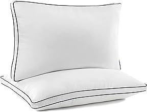 JZS وسادة مجمع (2 حزمة) وسائد سرير فاخرة عالية الجودة - نائم جانبي خلفي (مقاس كبير)
