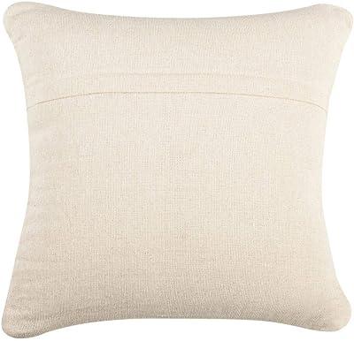 Urban Loft by Westex Heathered Stripe Feather Filled Decorative Throw Pillow Cushion 20 x 20 Blue /& White