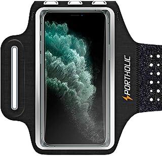 comprar comparacion Brazalete Deportivo para Correr, Brazalete Móvil Deportivo Ajustable para iPhone 12 Pro 11 Pro Max Galaxy A50 A40 Redmi 7 ...