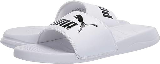 Puma White/Puma Black 1