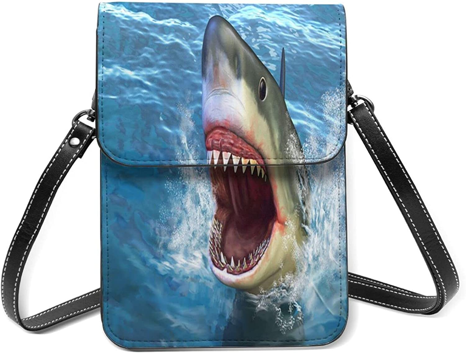 Sharks Small Cell Phone Purse Str Shoulder Flip Sale item Lightweight Max 57% OFF With