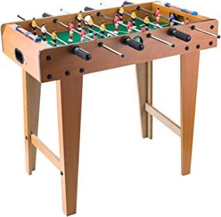 جدول كرة القدم Multiplayer Table Football, Easy To Assemble Mini Table Football, Wooden Soccer Table Game For Family And G...