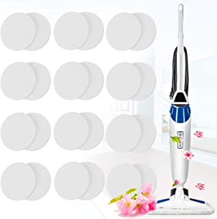 Maitys 24 Pieces Replacement Steam Mop Scent Disc Cherry Fresh Fragrance Scented Pad Compatible with Bissell Powerfresh and Symphony Series Fits Model 1940, 1806 and 1132