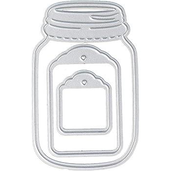 Momenta 24670 Stamp and Die Set Mason Jars