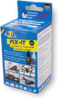 ATG FIX-IT - The Liquid Weld - Industrial Adhesive for Home Use, Heat Resistant and Waterproof - DIY Smart Repair - Industrial Adhesive Kit with Extensive Accessories. The Industrial Adhesive, Supergl