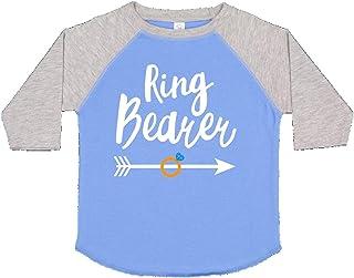 Ringbearer with Arrow Baby T-Shirt 28b14 inktastic