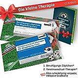 Die Kleine Therapie für Magdeburg-Fans | 2X süße Saison-Schmerzmittel | Witzige Geschenke & Fanartikel by Ligakakao.de | Besser als Kaffee-Tasse, Kaffeepott, Becher oder Fahne