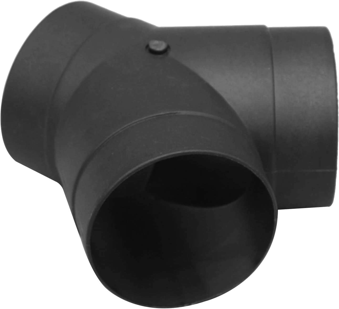 RuleaxAsi Air Vent Ducting T Y Tilted Bend Style Piece Elbow Pipe Outlet Exhaust Connector for Webasto Eberspaecher Diesel Parking Heater Truck Boat Car Air Diesel Heater Accessory
