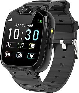 Barn smartklocka – MP3-musik 14-spel barn smart klocka samtal röstchatt SOS ficklampa digitalkamera, klocka med telefonkam...