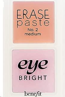 Benefit Cosmetics Life's Little Correctors Color Correcting Kit Erase paste brightening concealer in Medium Eye bright instant eye brightener