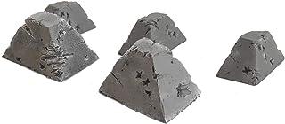 War World Gaming World at War Damaged Dragon's Teeth Tank Trap (Choose Size and Quantity) - 28mm WW2 Wargame Terrain