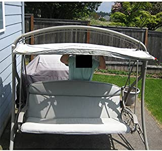 Garden Winds Curved Roof Swing Replacement Canopy