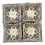 Arredamento Etnico Antipastiera Piatto Ceramica Terracotta Marocchina 1705211005