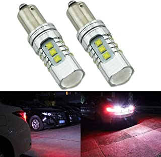 HSUN H21W BAY9S LED Bulbs,High Power XB-D Chipsets 4800LM Extremely Bright Bulbs with Canbus Error Free for Indicator, Backup Light and More,2 Pack,6000K White