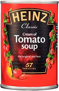 Heinz Classic Cream of Tomato Soup (400g) - Pack of 6