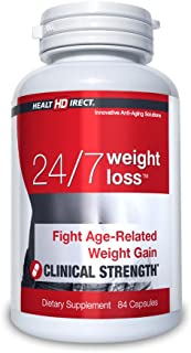 Sponsored Ad - 24/7 Weight Loss Age-Related Weight Loss (84 Gelatin Capsules) from Health Direct