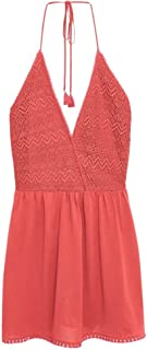 Mango Straight Dress for Women - Red, Size L