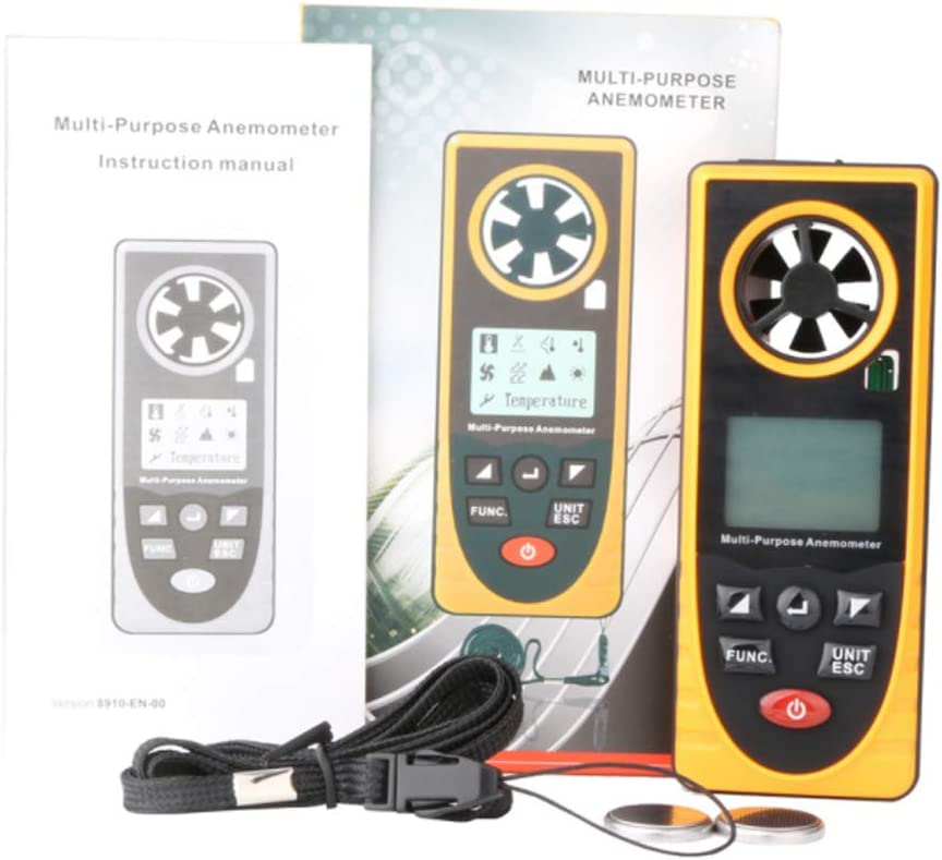 Digital Anemometer Wind Speed High New life Portable Precision Mail order cheap