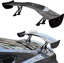 INEEDUP Carbon Fiber Universal Rear Wing Spoiler Fits: 2011 Nissan Leaf