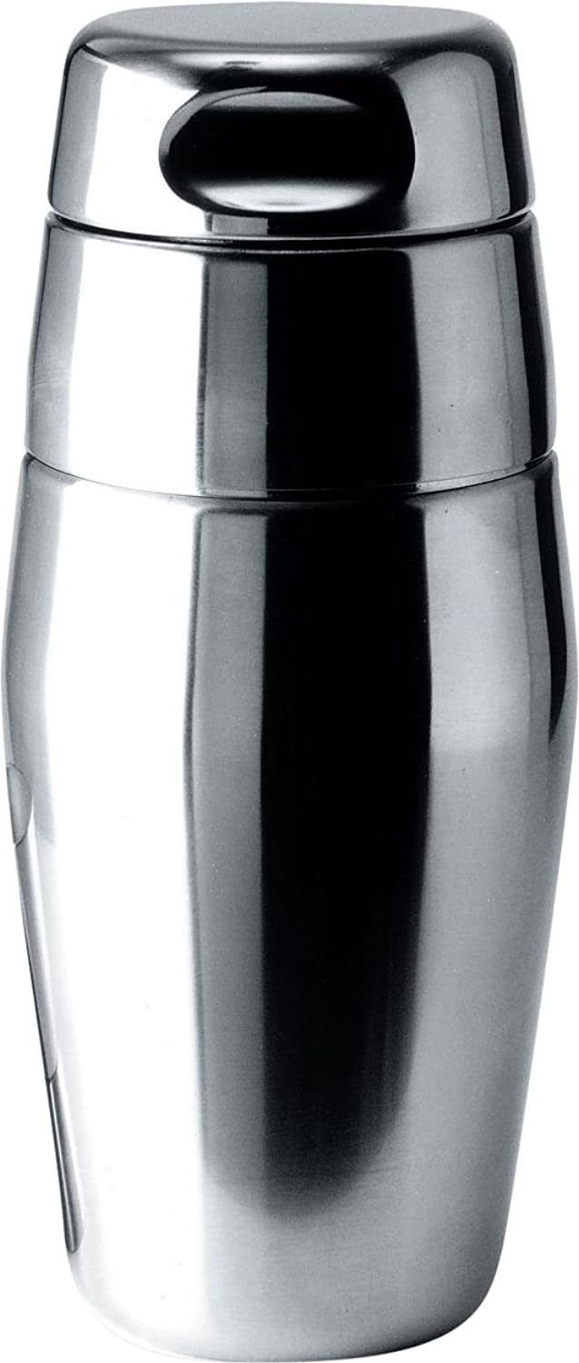 Alessi 17-3 4-Ounce Cocktail Shaker, Mirror Polish Finish
