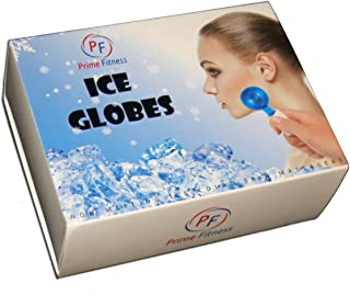Magic Cool Roller Ball Facial Massage Tools for Face and Neck Ice Globe,Cryo Globes Magic