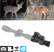 Digital Night Vision PARD NV007 - 1080p HD WiFi camera features night vision features including 32G SD portable day and night mode for hunting night vision rifle scope or viewing multifunction