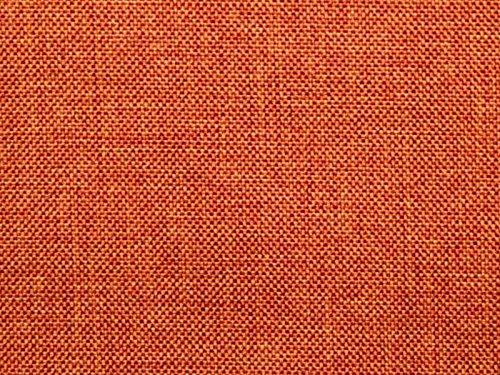 RaumTraum Möbelstoff Robin Farbe 10 (orange, Terra) - Flachgewebe (Einfarbig, Uni), Polsterstoff, Stoff, Bezugsstoff, Eckbank, Couch, Sessel, Hussen, Kissen, strapazierfähig