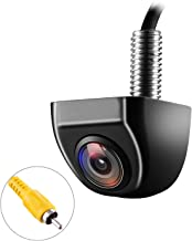 NATIKA Backup/Front View Camera,IP69K Waterproof Great Night Vision HD and Super Wide Angle Metal OEM Style Reverse Rear View Backup Camera for Cars Pickup Trucks SUVs RVs Vans (Black)