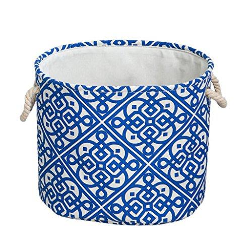 Xuan - Worth Another Coton Et Lin Vêtements Sales Panier Jouets en Tissu Boîte De Rangement Pliable Vêtements Boîte De Finition Toile Paniers (Taille : Gros)