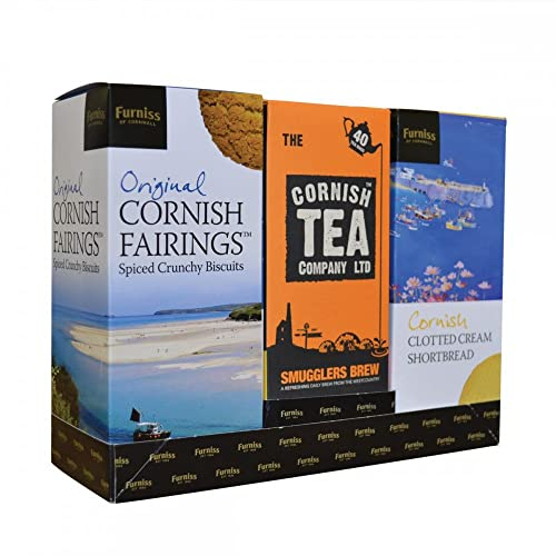 Furniss Cornish Biscuit & Tea Gift Pack (525g)
