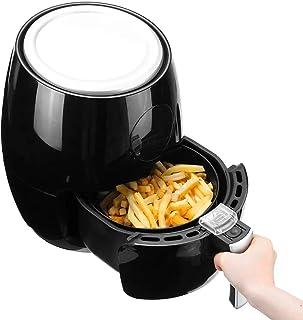 PLEASUR Friteuse à air électrique à LED numérique 3.8L, friteuse Intelligente Multifonction pour friteuse de santé de Poul...
