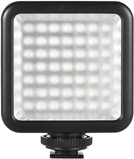 Paneld Luz LED Andoer Antorcha Led Video 49pcs Ultra Fino 3200K-6000K para Estudio Fotografía para Canon Nikon Sony Pentax Panasonic Olympus DSLR DV Videocámara