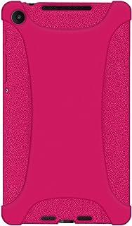Amzer سيليكون جيلي لينة الجلد صالح حالة الغطاء ل Asus New Nexus 7 / Google New Nexus 7 AMZ96138