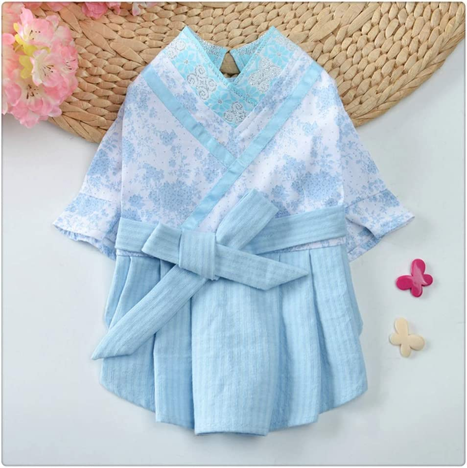 FEGOCLT OFFicial store Direct sale of manufacturer Dog Clothes Pet Dress Spring Chinese Style Summer Hanfu