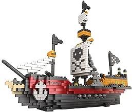 Rikuzo Pirate Ship Model Building Block Set 780pcs - Nano Micro Blocks Diamond DIY Toys
