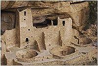 HDメサヴェルデ国立公園コロラド州-クリフパレス9001663(19x27の大人向けプレミアム1000ピースジグソーパズル)