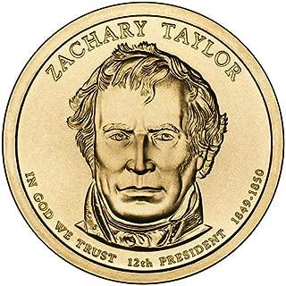 2009 P Position A Satin Finish Zachary Taylor Presidential Dollar Choice Uncirculated US Mint