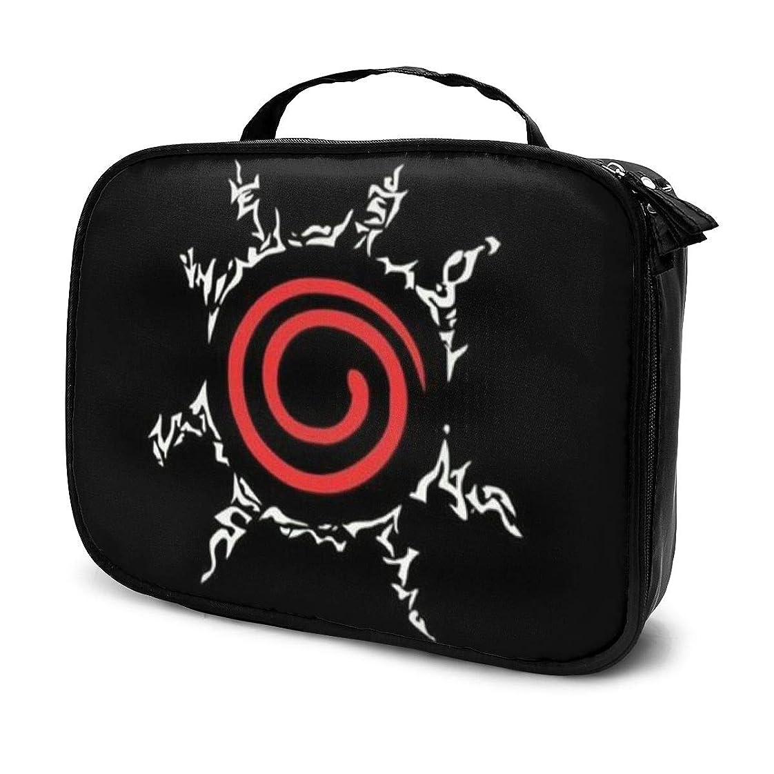 ところで仮定する上陸Daituナルト 化粧品袋の女性旅行バッグ収納大容量防水アクセサリー旅行