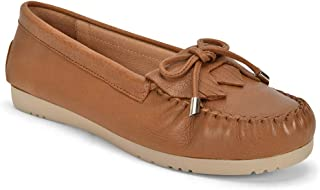 Five Tribe Women's Kind Leather Moccasin Loafer
